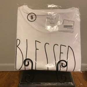 Rae Dunn Blessed Shirt- Adult S